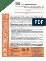 Boletín Semana Epidemiológica 02-2013