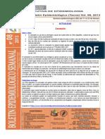 Boletín Semana Epidemiológica 08-2013