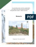 Memoria Foro Vallegrande 2009