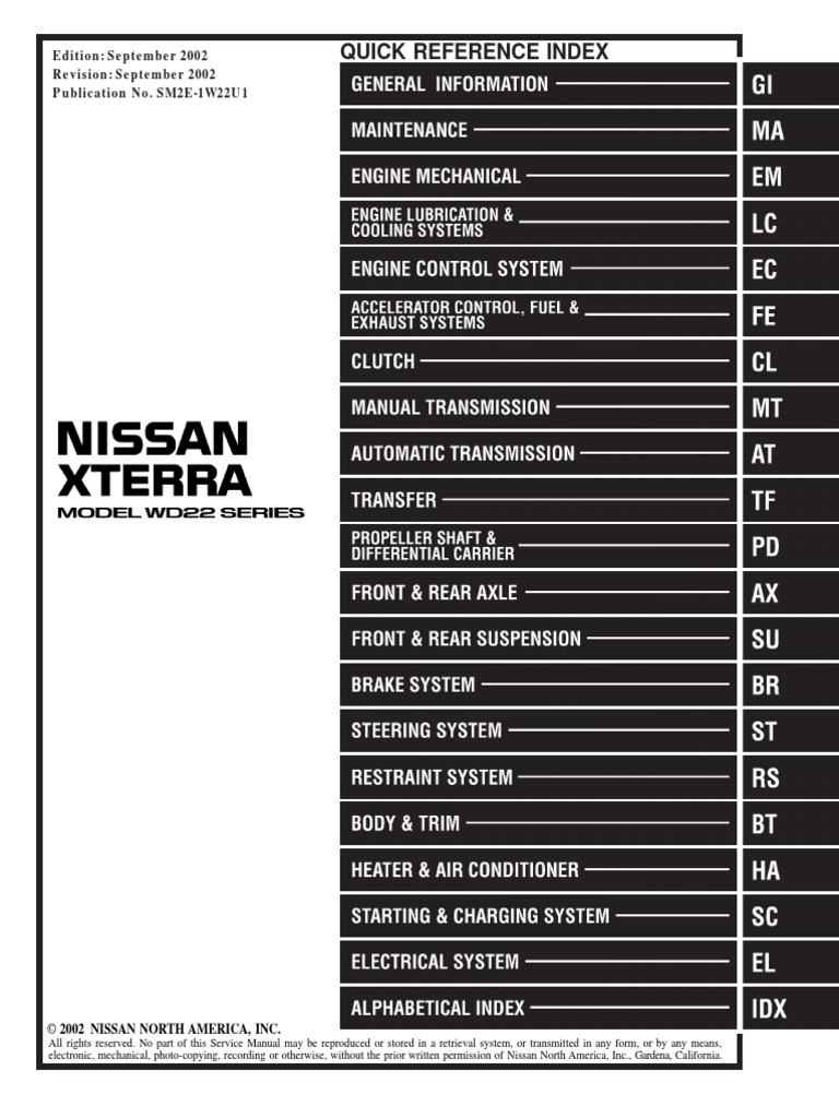 2000 Nissan Xterra Fuse Box Diagram Wiring Libraries 2006 Simple Schemanissan Location Library 2003