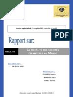 81473875 Fiscalite Des Entreprises Etrangeres Au Maroc