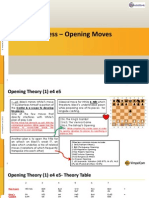 Chess Game- Opening Moves-2