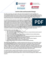 Framework for Safe and Successful School Environments PREVIEW COPY