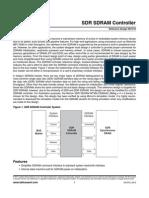 RefDesign Lattice RD1010 SDR SDRAM Controller 2011.04
