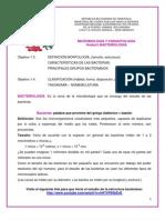 BACTERIAS_ESTRUCTURA Y CLASIFICACIÓN