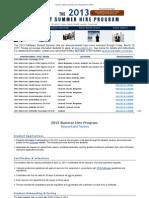 CDC 2013 Student Summer Hire Program Announcement-Extension(2)