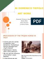 Paintings by Giovanny Domenico Tiepolo