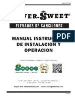 Bucket Elevator Manual-Spanish - 5-12