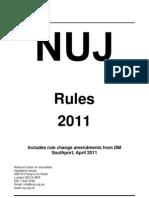 NUJ Rule Book 2011