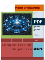 ISM Report on IT Security