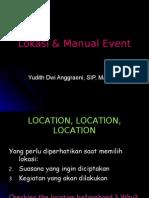 event marketing - 2 - lokasi & manual event