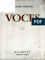 Antonio Porchia. Voces (v1.0 Carlos6)