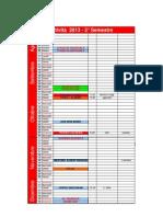 Calendario FIKTA Piemonte 2013 2° semestre
