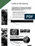 Benefits of E2B Gateway-Pfizer PGRD