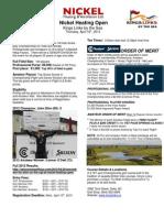 2013 Nickel Heating Open Details