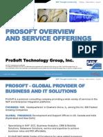 ProSoft's Corporate Profile v1.2
