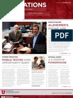 Innovations Newsletter Winter 2013