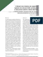 Domingues, Angela. O Brasil no Relato dos Viajantes do seculo XVIII.. producao de discursos sobre o novo mundo.pdf
