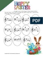 Easter Egg Piano Hunt