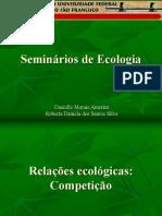 Seminário de Ecologia (Competição)