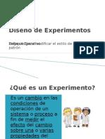 Diseño de Experimentos 1de2