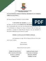 MC Destrancamento de REsp. Barcas. Final - Assinado