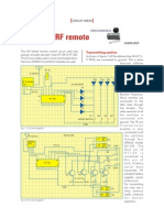 4 Channel RF Remote