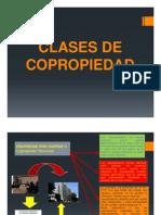 Clases de Copropiedad en Peru