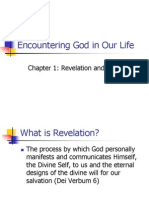 Encountering God in Our Life