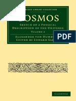 Alexander Von Humboldt - Cosmos Vol 2