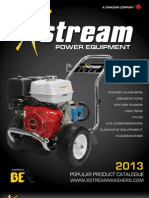 X-Stream BE Pressure Washer Hi-Pop Items