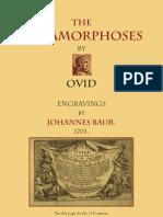 Ovid Metamorphoses - Engravings J. Baur