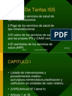 Presentac Ion Manual de Tarifas Iss 2000