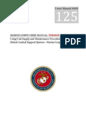 UM 4400 125 Version 1 0 Master Document pdf | Inventory
