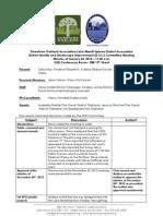 DISI Meeting January 24, 2013 Minutes