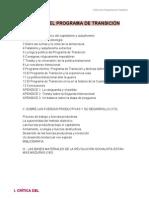Astarita- Crítica Programa de Transición