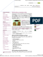 Hipotiroidismo, Obesidad y Dieta Alimentos Para El Control de Sobrepeso en Pacientes Hipotiroideos