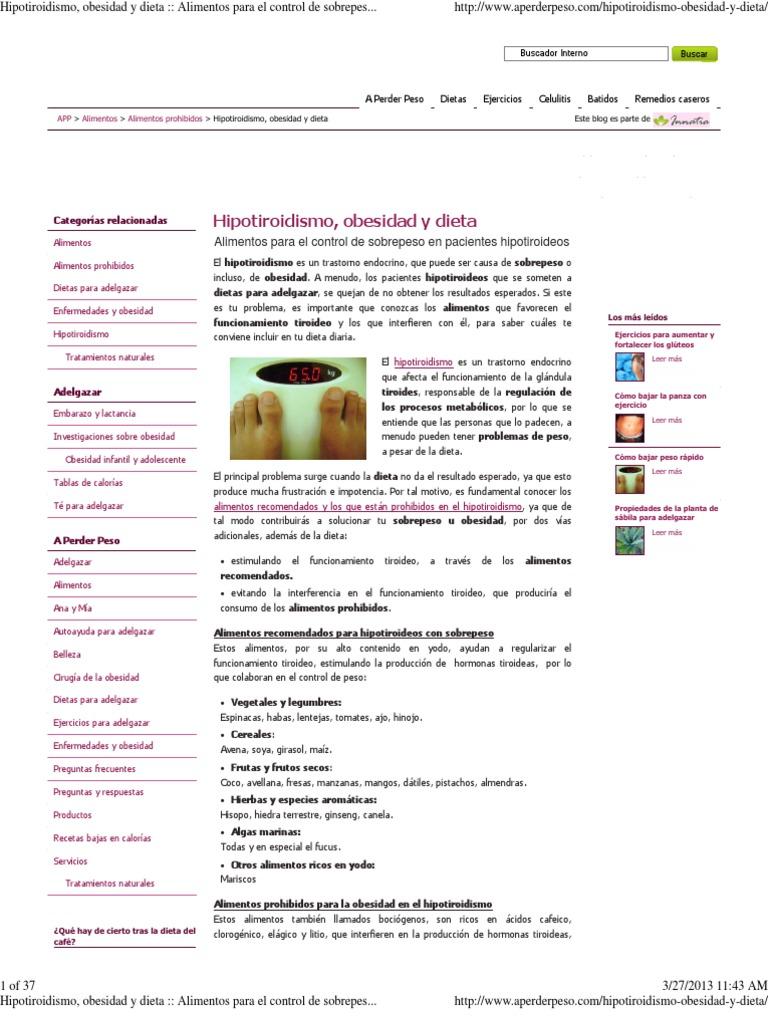 Tratamiento nutricional para obesidad infantil