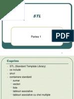 9. STL - Partea I