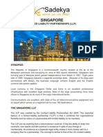 Singapore Limited Liability Partnership (Offshore) Information By