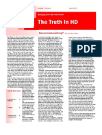 Truth in HD April 2013