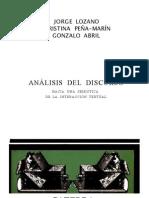 Analisis Del Discurso Ocr