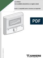 Regulator Senzor Exterior FW 100 Instalare +Utilizare