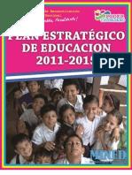 Plan Estrategico de La Educacion 2011 - 2015