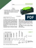 Sensirion Gas Flow EM1 Datasheet V3