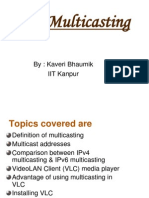 IPv6 multicasting