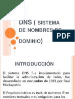 DNS ( Sistema de Nombres de Dominio)