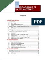 MC1_06 Métallurgie générale et choix des matériaux