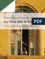La casa por la ventana, selección de poesía cubana