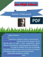 Unit 3 - Back to Nature (Lesson 0).pptx